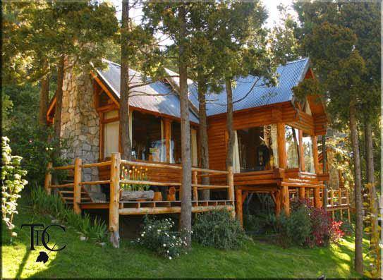 Caba as en bariloche terrazas del campanario alojamiento alquiler caba as bariloche - Cabanas de madera los pinos ...
